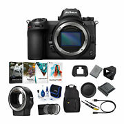 Nikon Z6 Mirrorless Digital Camera Body With Mount Adapter And Accessory Bundle