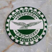 Green And Chrome Eagle Zenith Wheel Chips Emblems Decals Set Of 4 Size 2.25in.