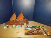 Lego Star Wars Jabbaandrsquos Sail Barge 75020 100 With Figures And Manuals