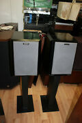 Reference 3a Speakers - Master Control Mmc Serie Master - W/ Heavy Duty Stands