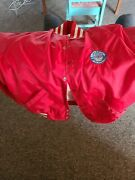 Rare Vintage Epcot Center Red Bomber Jacket Sz. Small. Goodclean Condition