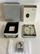 1993 Zippo Lighter The Vargas Girl 1935 Vintage Tin Box And Sleeve Untested