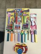 Lot Of Vintage Pez Candy Dispensers And More