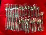 La Scala By Gorham Sterling Silver Flatware Service-1974 Never Used