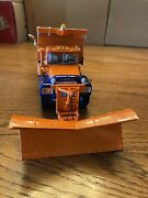 First Gear Mack-r-model Dump Truck W/plowtollway And Tunnel 1/34 Scale