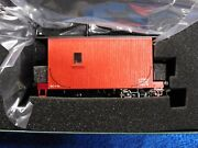 Bachmann On30 18 Ft. Logging Caboose Painted Red Unlettered 26562