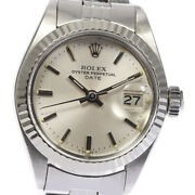 Rolex Oyster Perpetual Date 6917 Cal.2030 Automatic Ladies Watch_638782