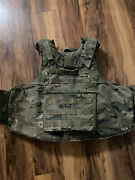 Kdh Multicam Outer Tactical Vest Plate Carrier Size Small.