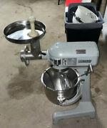 Hobart A-200t Commercial 20 Qt Bakery Baking Dough Mixerwith Bowl Whisk Paddle