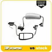 Mirrors Complete L+r Side Chrome For 1997-10 International 9200 9400i