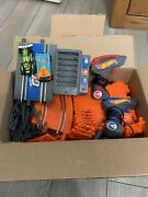 Hot Wheels Go For It Slot Car Track Lot. Cars Included. Extremely Good Condition