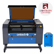 Omtech 20x28inch 60w Co2 Laser Engraver Cutter Marker With Cw-5200 Water Chiller
