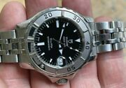 Tudor Date Hydronaut Automatic Stainless Steel Black Dial Ref. 85190 Box