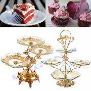 3/4 Layer Cupcake Stand Holder Tower Display Tray Shelf Party Wedding Carrier