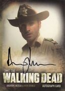 The Walking Dead Season 2 Andrew Lincoln As Rick Grimes A1 Auto Card