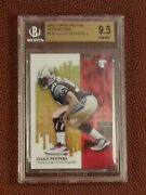 Julius Peppers 2002 Topps Pristine Refractor Bgs 9.5 Rookie 136 Rc /499 Low Pop