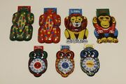 Vintage Tin Clicker Clickers Toy Japan 1960's Lot Of 7 Rare Game