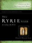 The Nas Ryrie Study Bible Hardback Red Letter By Charles C. Ryrie Used