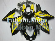 Yellow Black Injection Mold Fairing Fit For 2009-2016 Gsx-r 1000 K9 Plastics Abs