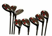 Senior Mens Golf All Hybrid Complete Full Set Which Includes 3 4 5 6 7 8 9