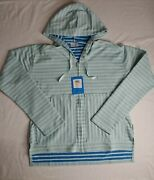 Women's Columbia Melody Spring Long Sleeve Striped Hoodie Jacket Size Medium Nwt