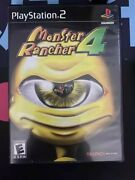 Monster Rancher 4 Sony Playstation 2, 2003 Ps2 Cib With Manual Rare Game Works