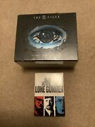 Sealed The X Files Complete Collectors Edition And Used Lone Gunmen Series Dvd Lot