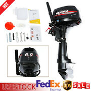 6.0hp 2 Stroke Heavy Duty Outboard Motor Boat Engine With Water Cooling System