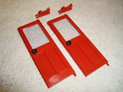 Lgb 4065 40650 Series Us Style Caboose Red Door Parts Set Of 4 Pieces Brand New