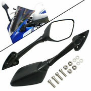 Motorcycle Motorbike Side Mirrors Blind Spot Rearview Mirrors For Yamaha Yzf R3
