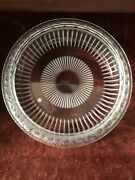 Lalique Marguerites France Frosted Crystal 13 Bowl Daisy Sunflower - Signed