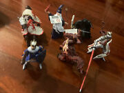 Papo Toys Knights Dragons Merlin Horse 6 X Lot Medieval Heroes Figures New
