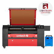 Omtech 80w 28x20 Co2 Laser Engraver Cutter Marker With Cw3000 Water Chiller