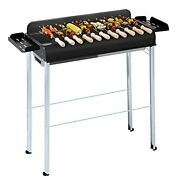 Amosijoy Portable Charcoal Grill Stainless Steel Detachable Barbecue Grill Wi...