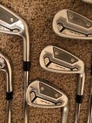2021 Callaway Apex Tcb Irons 4-pw With Dg Tour Issue S400