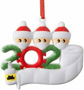 2021 Christmas Ornament Quarantine Family Personalized Ornaments For Christmas T
