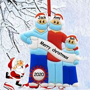 Christmas Ornaments Kit 2021 Personalized Survived Family Christmas Ornament Dec