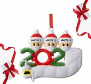 2021 Christmas Ornaments, Personalized Christmas Ornaments, Survived Family Spec