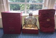 Crown Royal Xr Red Rare Collector's Set - Bottle, Bag, Display Box Empty