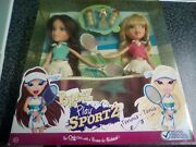 Bratz Play Sportz Tennis Cloe And Phoebe 2 Doll Pack Rare And Hard-to-find 6+ Years