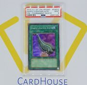 Psa 9 Mint Harpieand039s Feather Duster Tp8 Tournament Pack 8 Holo 2006 Yu-gi-oh