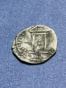 Papal States Clement Viii 1592-1605 1/2 Silver Grosso Holy Year Issue Fine