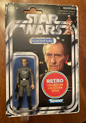 Star Wars Vintage Retro Collection Grand Moff Tarkin Kenner Moc Vc Carded Figure