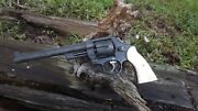 Smith Wesson Elk Stag Grips N Frame Square Butt Model 29 Etc...