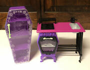 2013 Mattel Monster High Home Ick Classroom Refrigerator And Stove/oven/sink