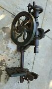 Champion Blower And Forge Co Antique Post Drill Press   Model Unknown   Usa