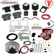 Firestone Ride Rite Air Bags And Airlift Hd Compressor For Ford F350 F450 Drw 4wd