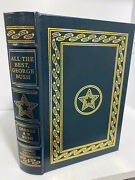 Easton Press All The Best By George H.w. Bush Signed W/ Coa