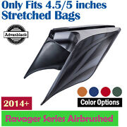 Ravager Series Airbrushed Stretched Extended Side Cover Pannel For Harley 2014+
