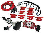 Msd 60153 Dis Kit Small Block Ford, 351w, Red